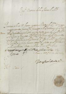 Esenzione dal dazio della macina concessa al Luogo pio della Divinità, 1624-1629