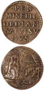 Segno di beneficenza del Consorzio della Misericordia, prima metà del XVII secolo