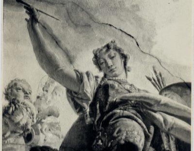 Giambattista Tiepolo, Il Trionfo delle Arti e delle Scienze, particolare